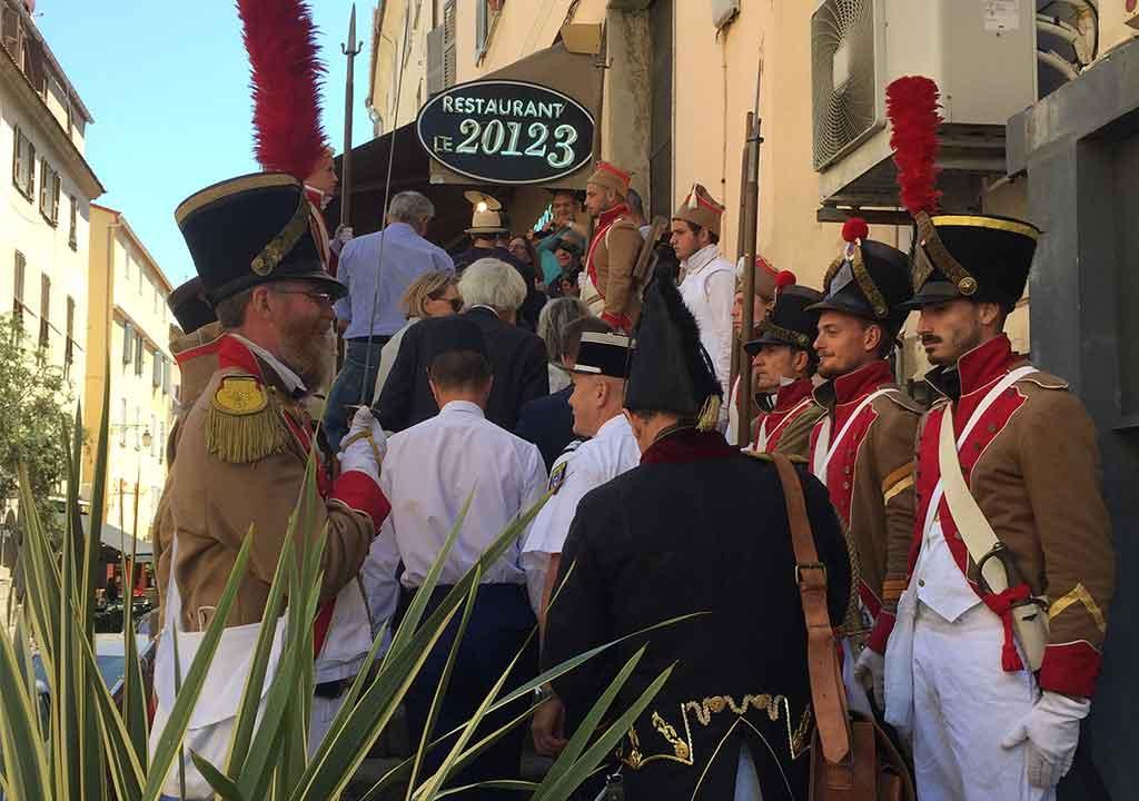 Journées Napoléoniennes Ajaccio - Août 2019